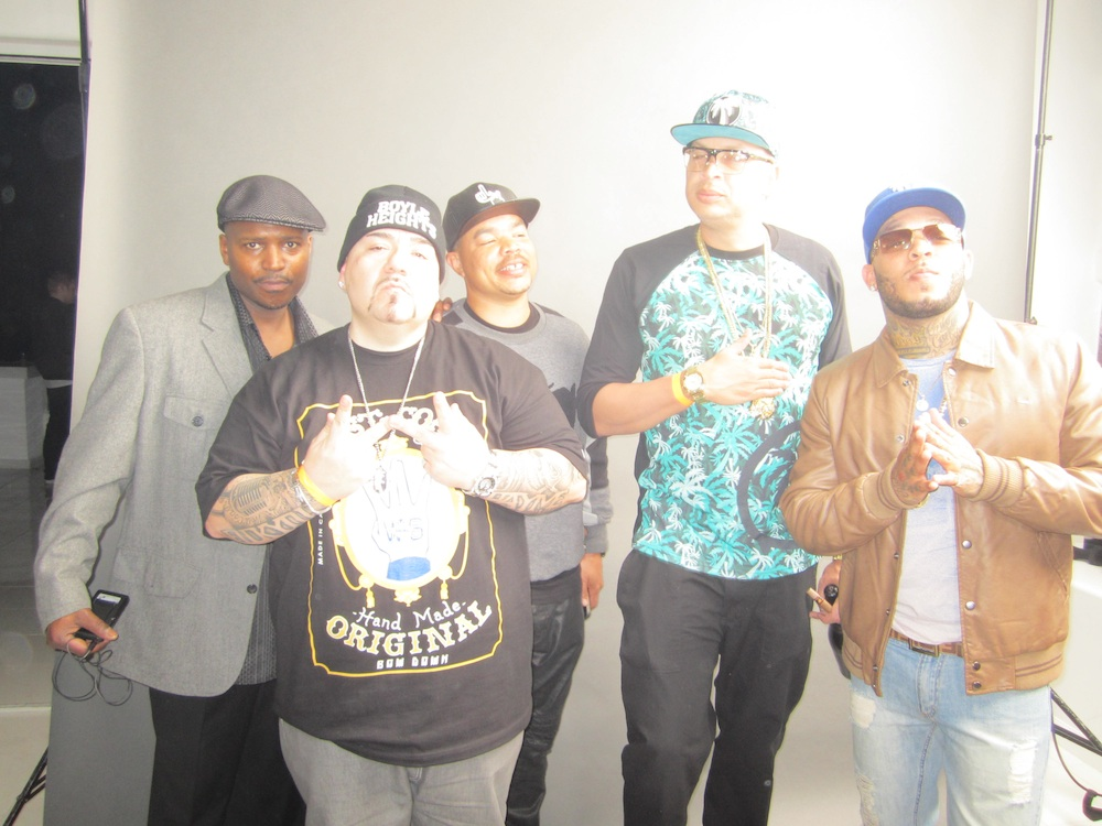 BIG PERCY, MAC LUCCI, TROUBLESOME, RED GRANT E2W MAGAZINE WEST COAST RMM RAP HIP HOP MOVIES ACTOR RAPPER