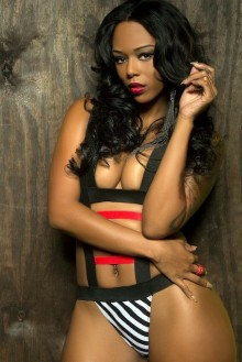 BAMBI MODEL BASKETBALL WIVES SINGER R&B RAP E2W MAGAZINE