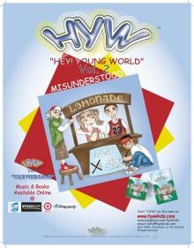 HEY YOUNG WORLD CHILDREN'S BOOKS KAREEM NASH