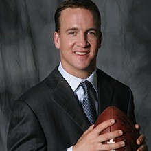 PEYTON MANNING FOOTBALL DENVER BRONCOS